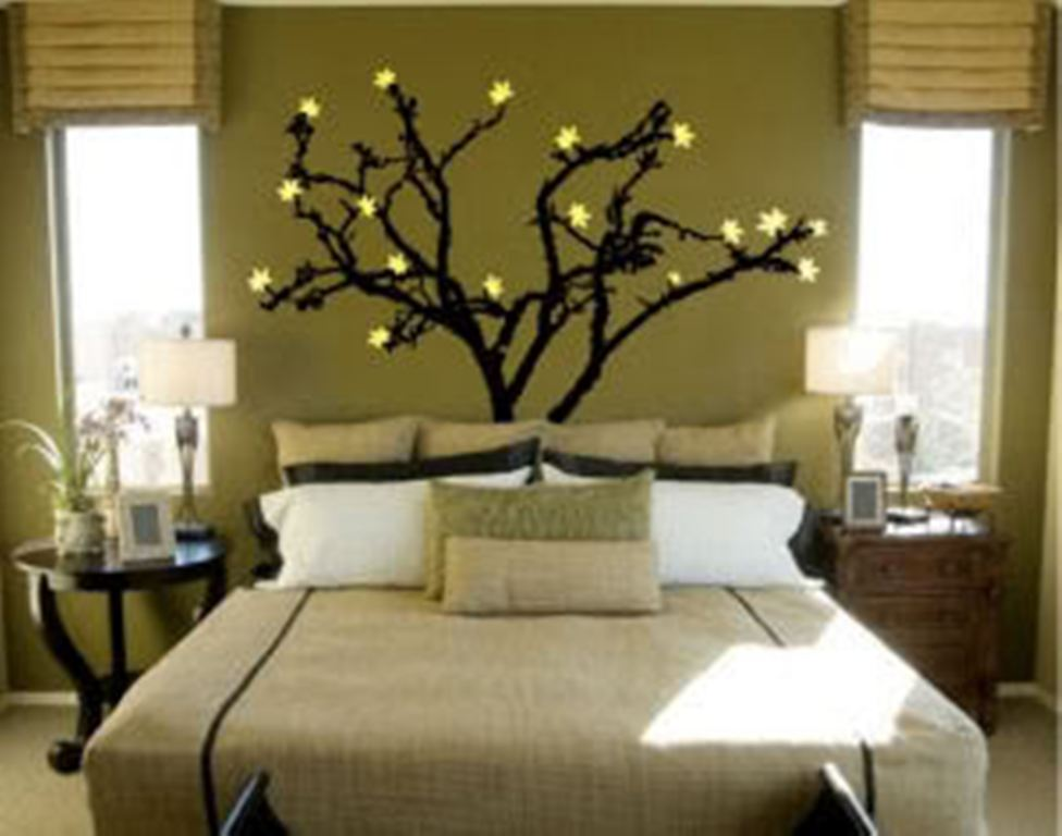 30 wall painting ideas a brilliant way to bring a touch of - Wall painting ideas for bedroom ...