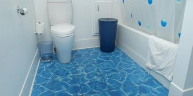 Delicieux 22 Bathroom Floor Tiles Ideas  Give Your Bathroom A Stylish Look U2013 Home And  Gardening Ideas