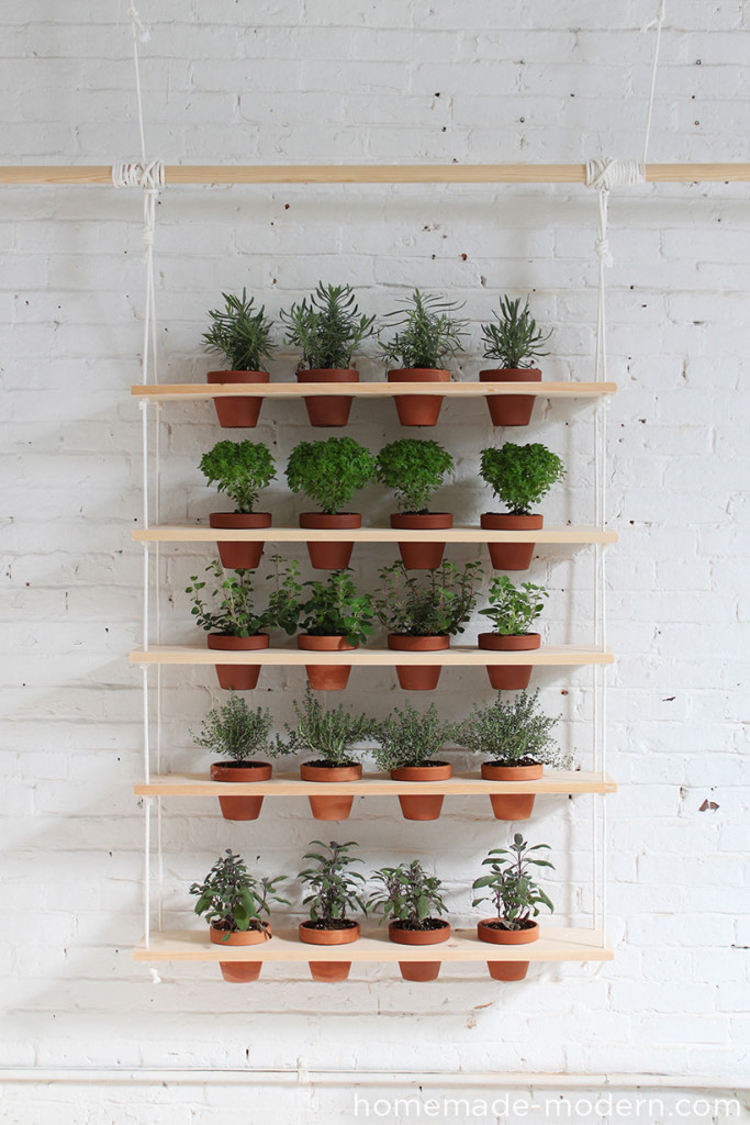 Turn A Window Into A Beautiful Hanging Garden Stand