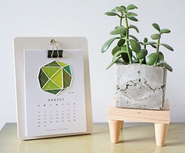 Give Your Plants a Lift With Mid-Century Plant Stand