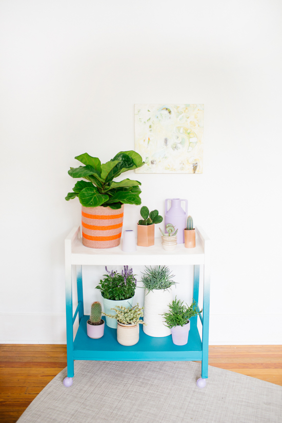 15 DIY Plant Stands You Can Make Yourself - Home and ... on House Plant Stand Ideas  id=32621