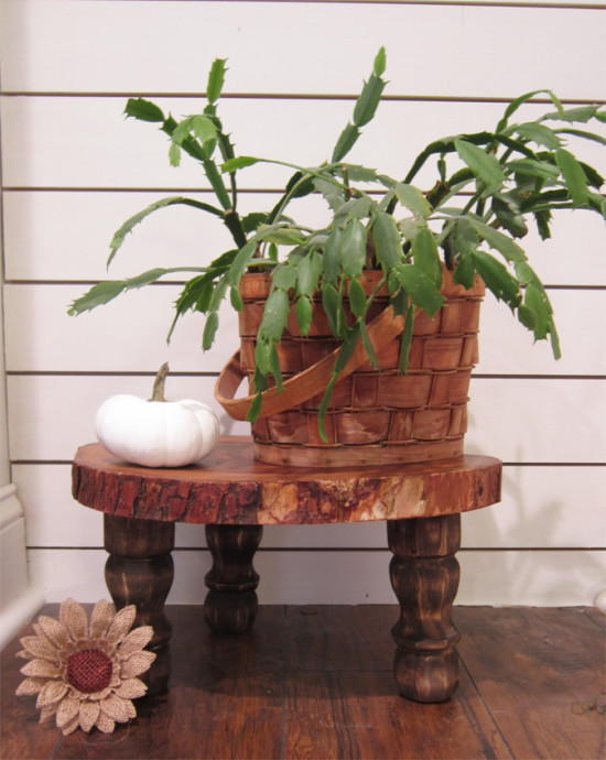 15 diy plant stands you can make yourself home and. Black Bedroom Furniture Sets. Home Design Ideas