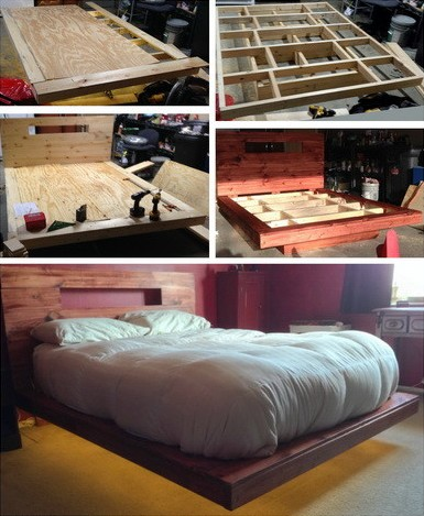 20 Diy Bed Frames To Meet Your Sleeping Comfort Needs