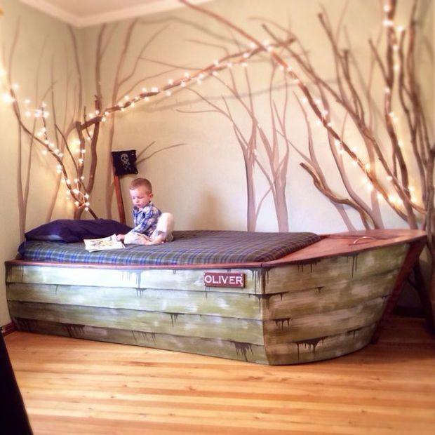 boat bed frame