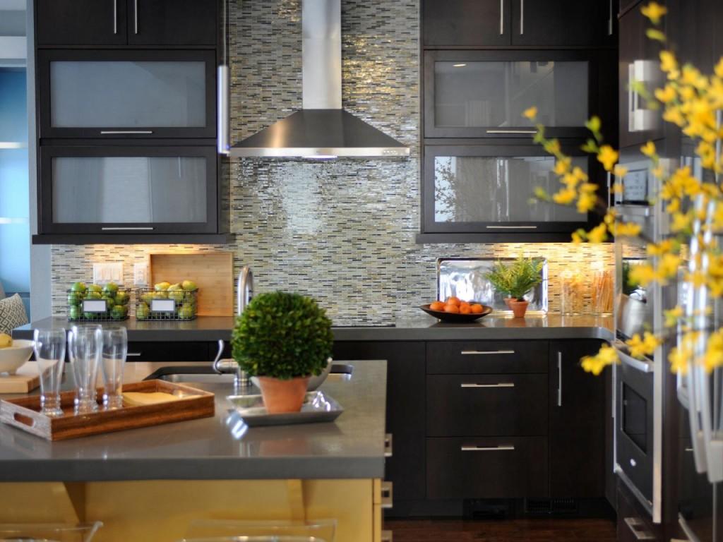 stylish glass tile