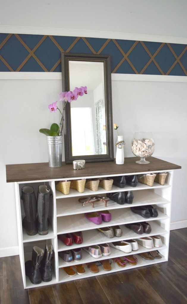 25 DIY Shoe Rack Ideas Keep Your Collection Neat And