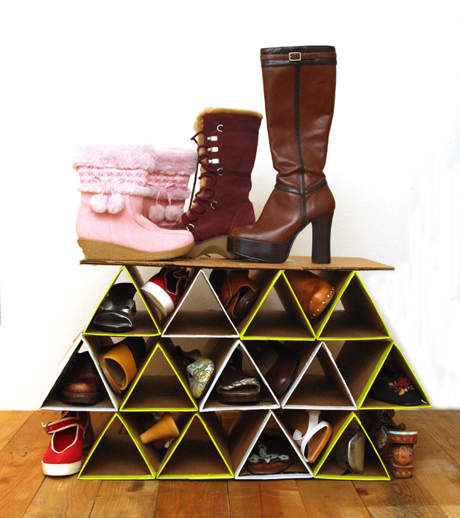 25 DIY Shoe Rack Keep Your Shoe Collection Neat And Tidy Home And Gardening