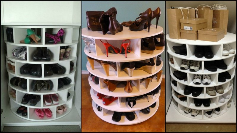 Incroyable Shoe Rack Plans