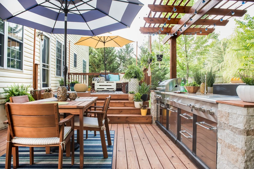 17 Outdoor Kitchen Plans-Turn Your Backyard Into ... on Patio Kitchen id=84600