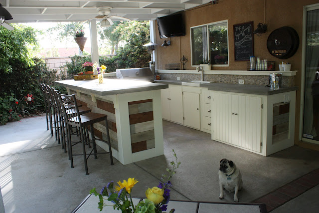 How To Make The Best Of Your Kitchenette: 17 Outdoor Kitchen Plans-Turn Your Backyard Into