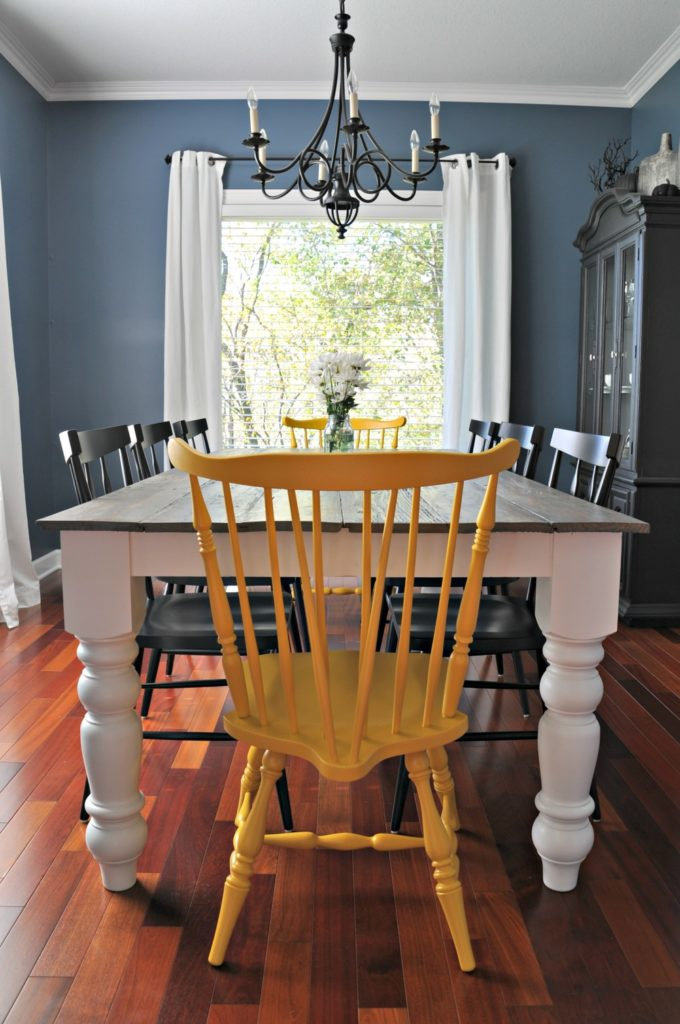 Dining room table farmhouse style