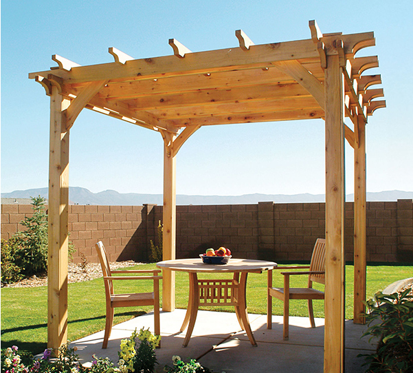 Small Cedar Pergola - Pergola Plans-20 DIY Ideas To Add Shaded Sitting Area – Home And