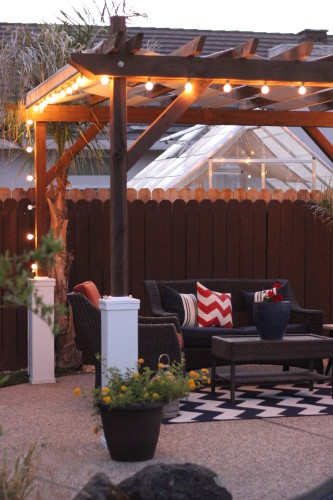 Do It Yourself Home Design: Pergola Plans-20 DIY Ideas To Add Shaded Sitting Area