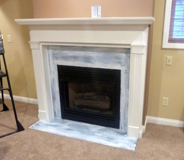 12 brick fireplace makeover ideas to update your old for Design your own fireplace