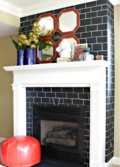 create your own fireplace