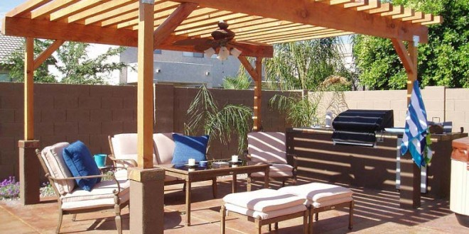 diy pergola plans - Pergola Plans-20 DIY Ideas To Add Shaded Sitting Area – Home And