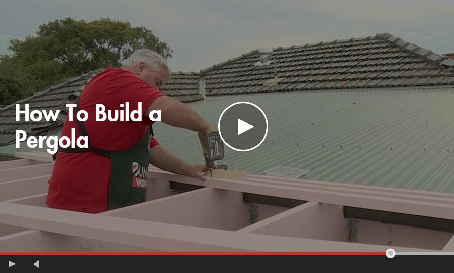 how to build a classic pergola
