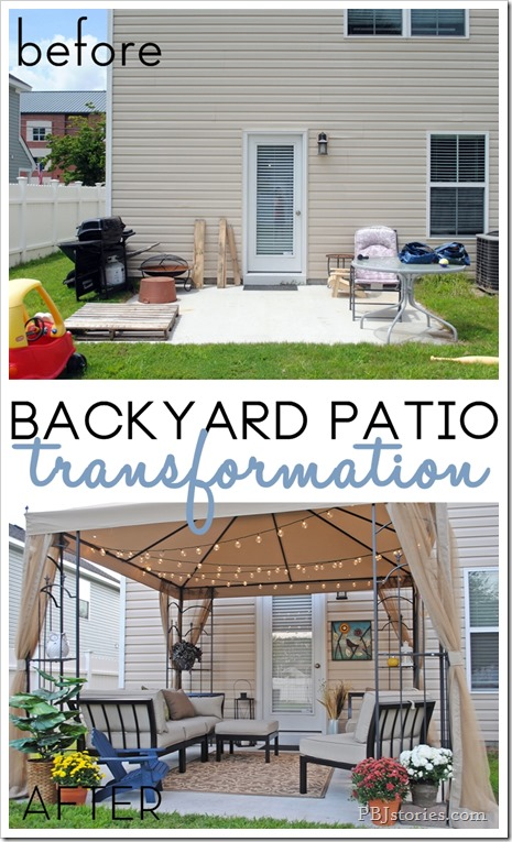 15 Inspiring Backyard Makeover Projects You May like to Do ... on Backyard Patio Makeover id=94269