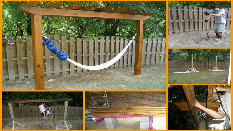 15 DIY Hammock Stand to Build This Summer – Home And Gardening Ideas