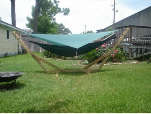 garden hammock   15 diy hammock stand to build this summer  u2013 home and gardening ideas backyard hammock stand   outdoor goods  rh   outdoorgoods info
