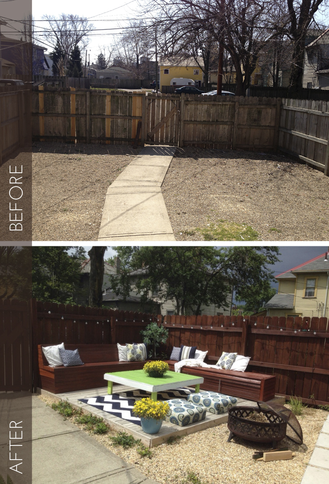 15 Inspiring Backyard Makeover Projects You May like to Do ... on Backyard Patio Makeover id=55047
