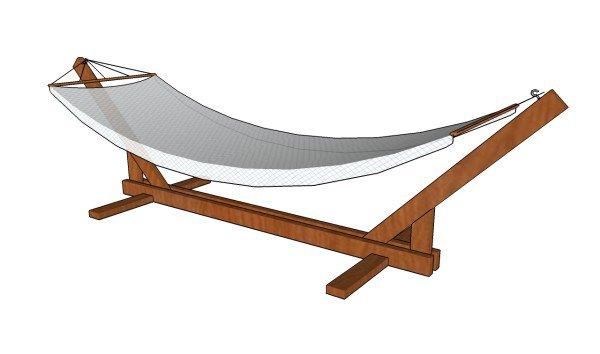 homemade hammock stand 15 diy hammock stand to build this summer  u2013 home and gardening ideas  rh   hngideas