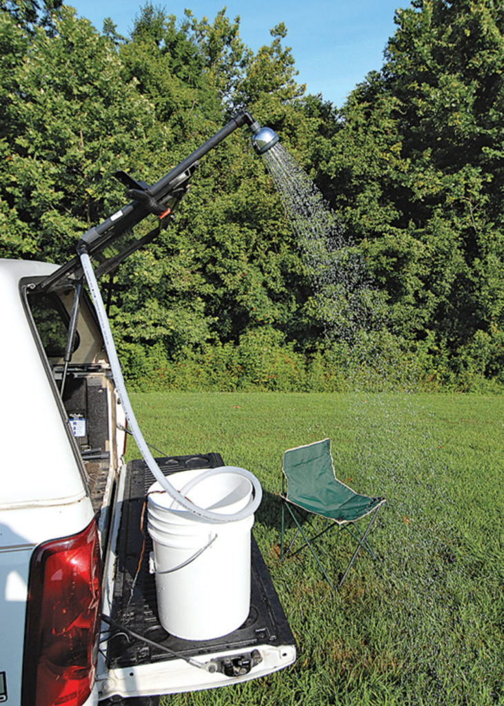 shower for camping