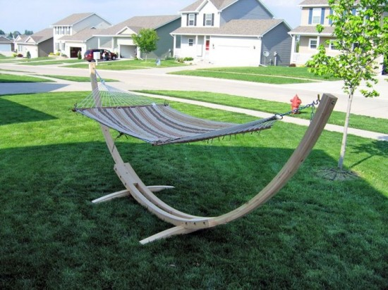 Hammock Stand Designs : Diy hammock stand and hammocks to build this summer u home and