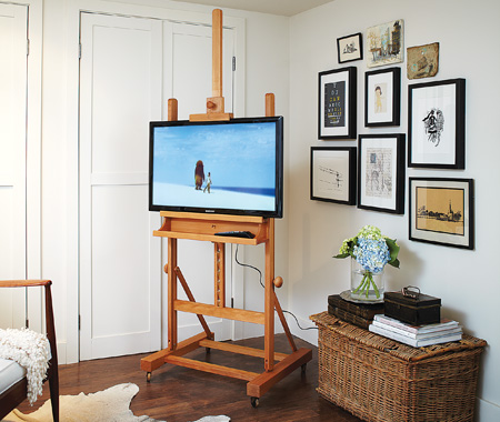 how to build small easel