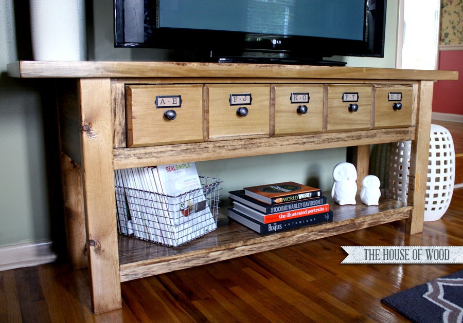 15 DIY TV Stands You Can Build Easily In A Weekend – Home and ...