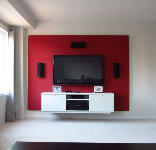 Floating Tv Room Divider