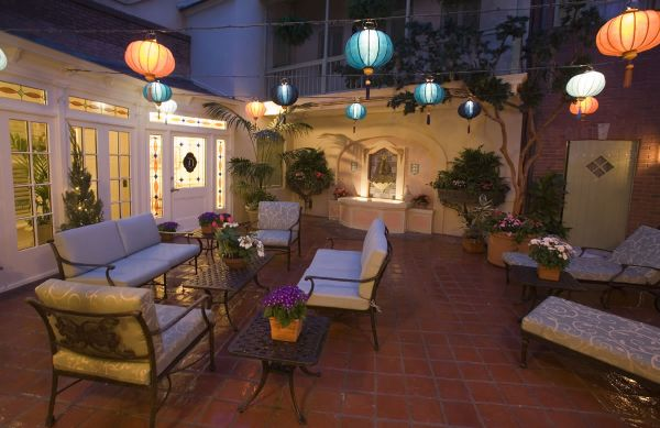 Cheap Patio Decorating Ideas Small Patio Decorating Ideas Decorated With  Red Patio Furniture In Contemporary Style