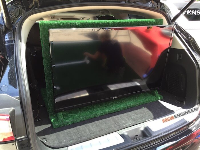 Portable TV Rack