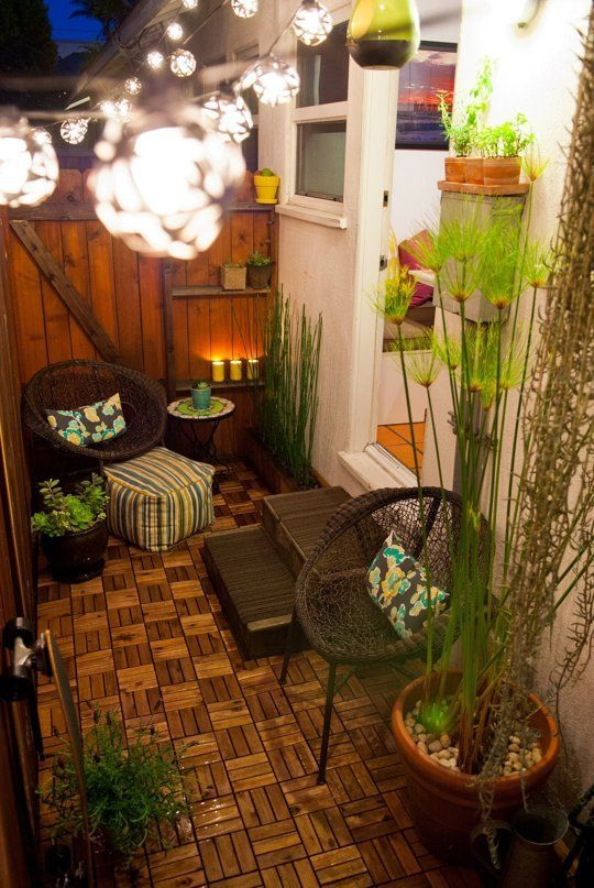 30 inspiring patio decorating ideas to relax on a hot days ? home ... - Tiny Patio Ideas
