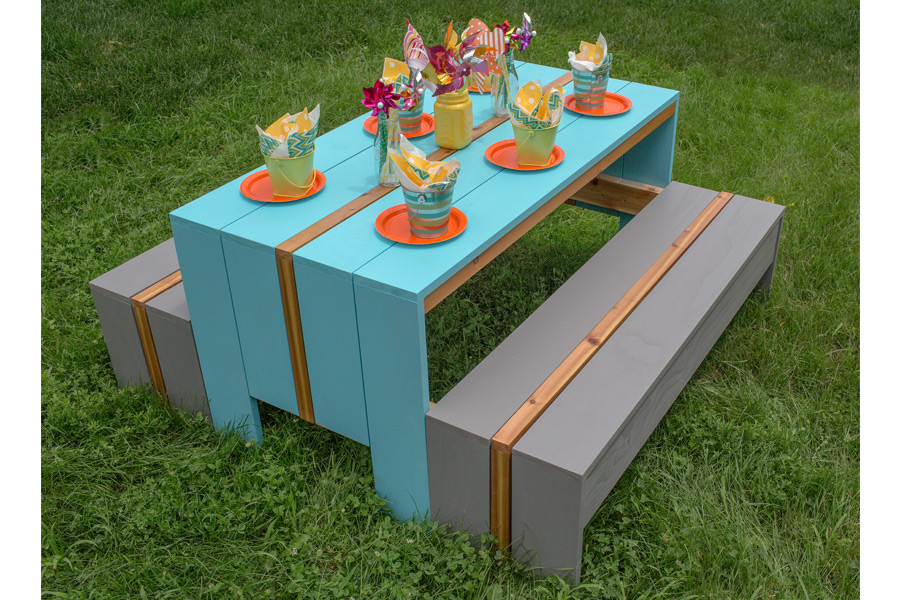 Kids Picnic Table Plans