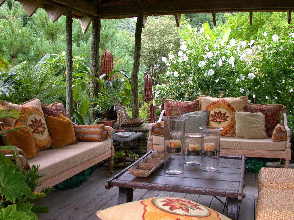 Outdoor Living Room Furniture For Your Patio 30 Inspiring Patio Decorating Ideas To Relax On A Hot Days Home