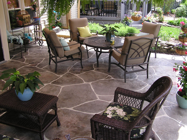 Wonderful Patio Decorating Idea