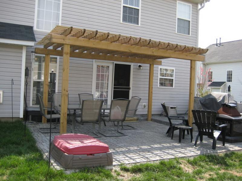 pergola plan - Patio Decorating Ideas