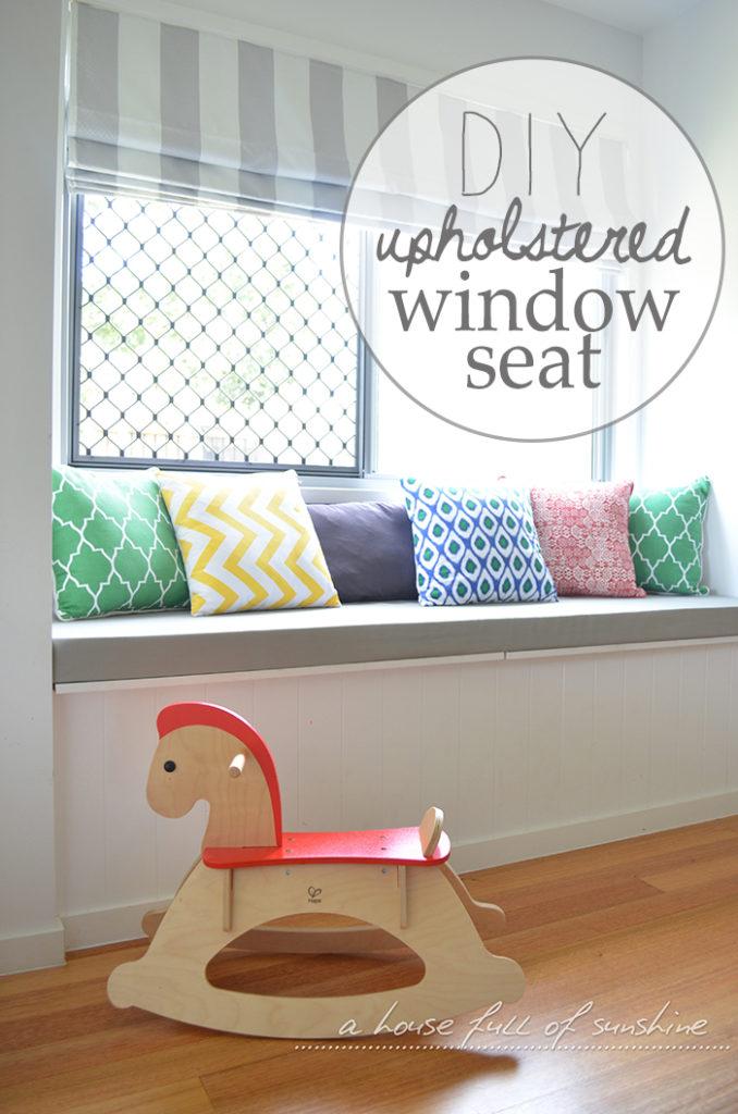Upholstered Window Seat