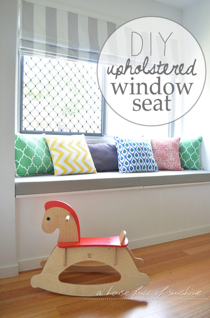 Upholstered Window Seat