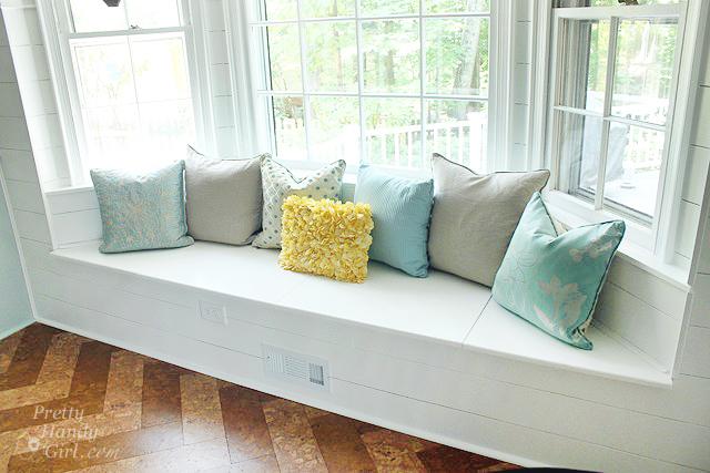 bay window seat with storage underneath