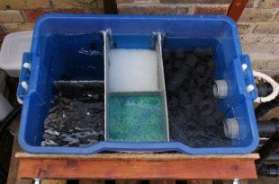 diy pond filter