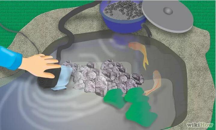 gravel filter system