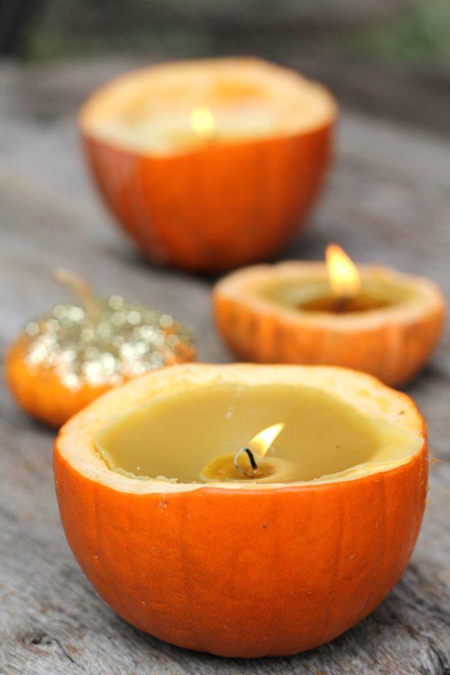 Cinnamon Pumpkin Candles