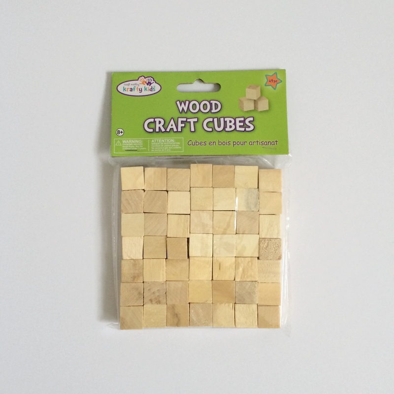 scented wood cubes