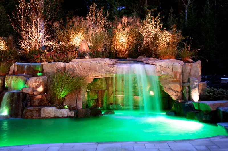 Colorful Pool Lights