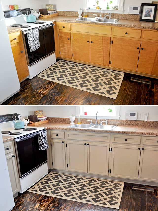10 diy cabinet doors for updating your kitchen home and for Inexpensive wood kitchen cabinets