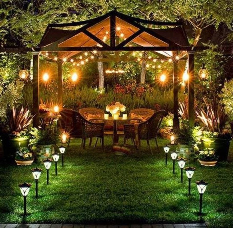 Outside lighting ideas