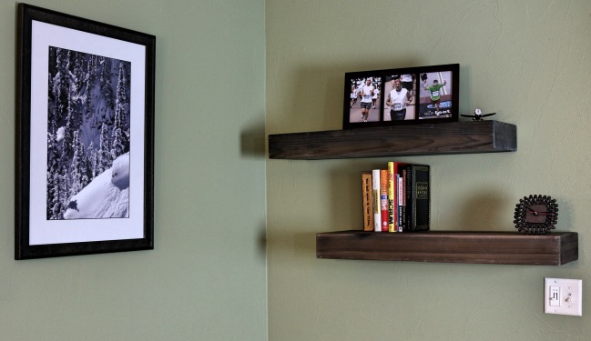 20 DIY Floating Shelves You Can Build Quickly and Easily ...
