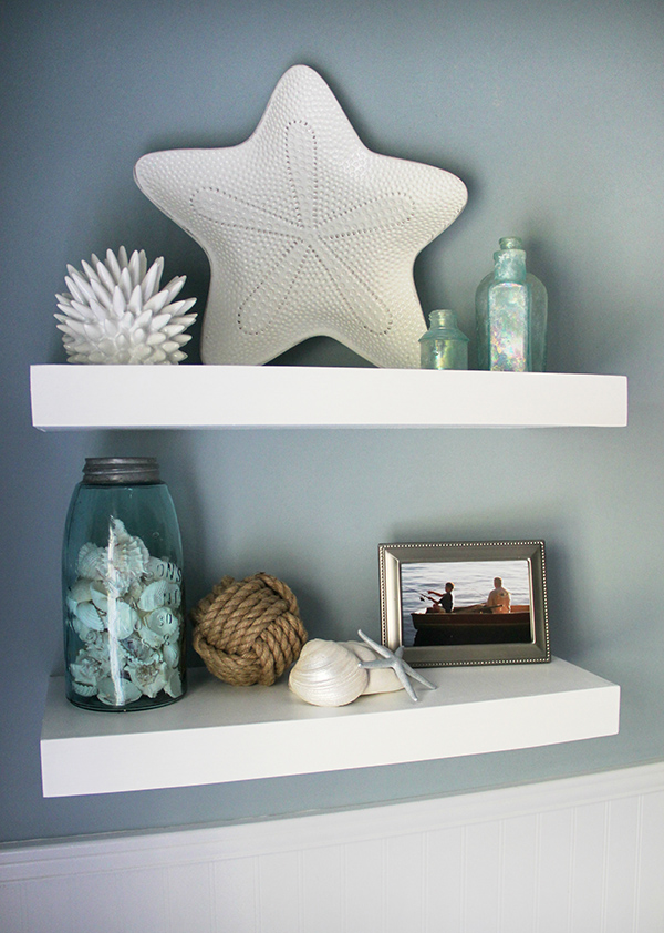 attractive floating shelves